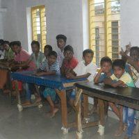 Helping Boys at an Orphanage in Paranthal, kerala